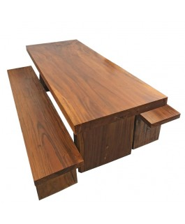 Dining Table Solid Wood Suar