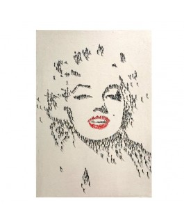 Pintura Pop Art Marylin Monroe