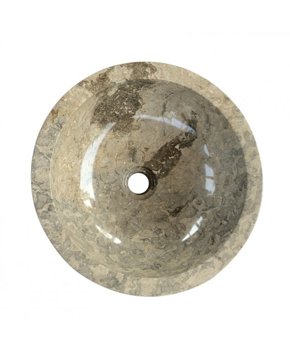 Marble Natural Round Washbasin