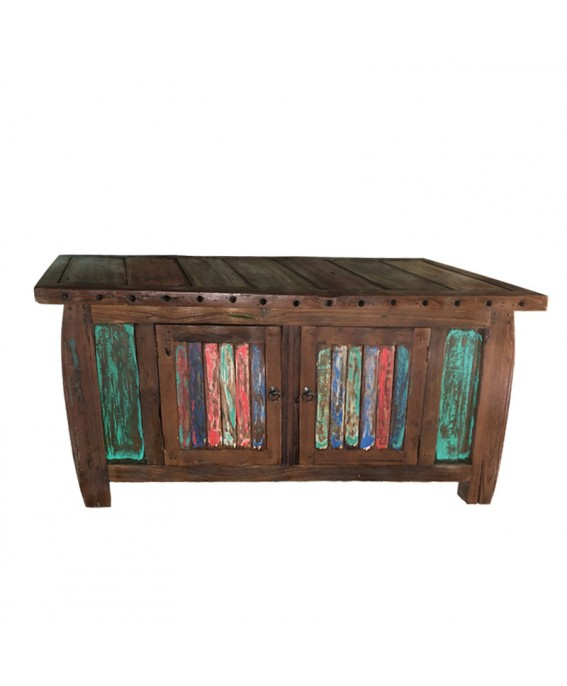 Recycled Pirogue Solid Wood Sideboard
