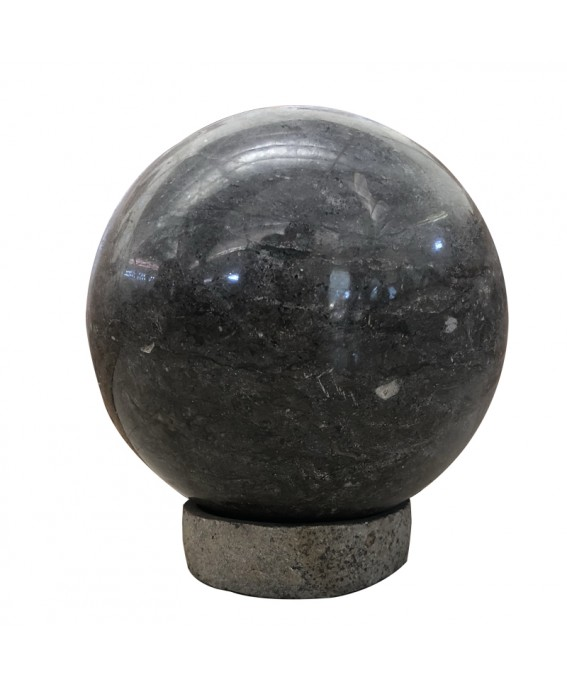 Black Marble Ball and its Base