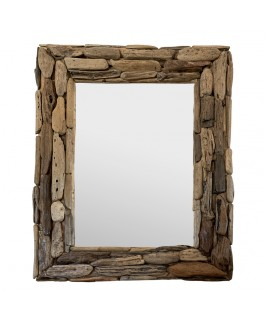 Rustic Mirror in Driftwood