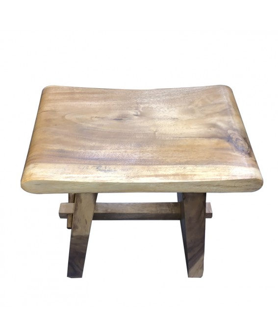 Stool Rounded in Exotic Suar Wood